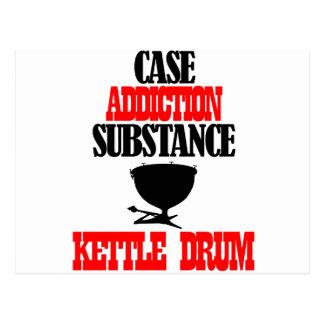 kettle drum designs post cards