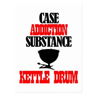 kettle drum designs postcard