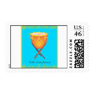 kettle drum postage stamps