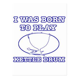Kettle Drum Postcard