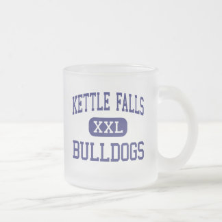 Kettle Falls Bulldogs Middle Kettle Falls 10 Oz Frosted Glass Coffee Mug