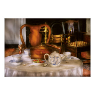 Kettle -  Have some Tea - Chinese tea set Poster