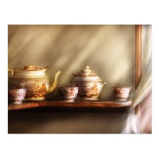 Kettle - My Grandmother's Chinese Tea Set Postcard
