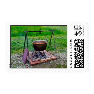 Kettle Postage Stamp