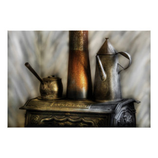 Kettle - The Kettle and Stove Print