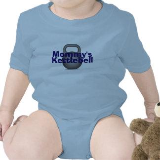 Kettlebell de la mamá trajes de bebé