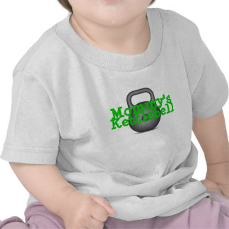 Kettlebell de la mamá camisetas