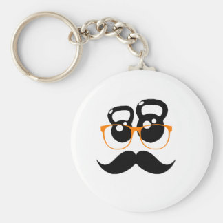 Kettlebell Disguise Orange Key Chain
