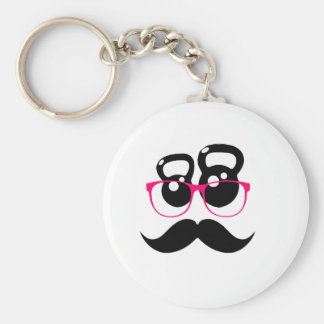 Kettlebell Disguise Pink Key Chain