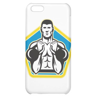 Kettlebell Exercise Weight Training Retro iPhone 5C Case