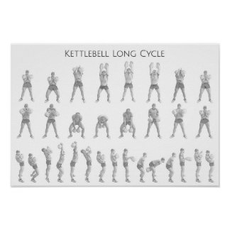 Kettlebell Long Cycle Poster