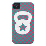 Kettlebell para la inspiración iPhone 4 Case-Mate protector