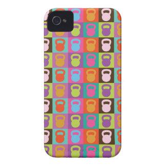 Kettlebell para la inspiración Case-Mate iPhone 4 carcasa