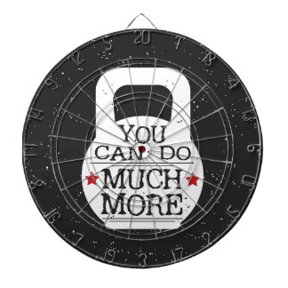 Kettlebell Print - You Can Do Much More Dartboard