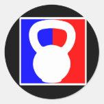 Kettlebell Pro Logo Sticker