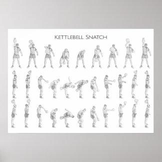 Kettlebell Snatch Poster