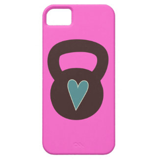 Kettlebell With A Heart iPhone SE/5/5s Case