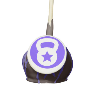 Kettlebell With A Star - Cross training workout Cake Pops