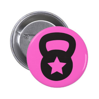 Kettlebell With An Empty Star Buttons