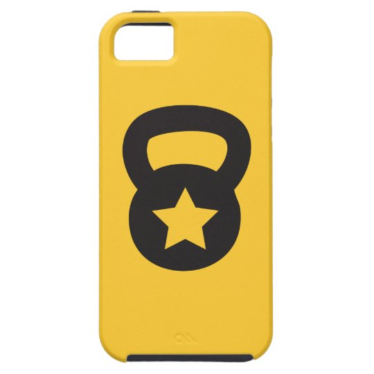Kettlebell With An Empty Star iPhone SE/5/5s Case