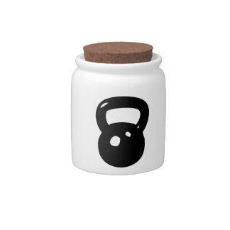 Kettlebell Workout Candy Dishes