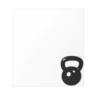 Kettlebell Workout Notepad