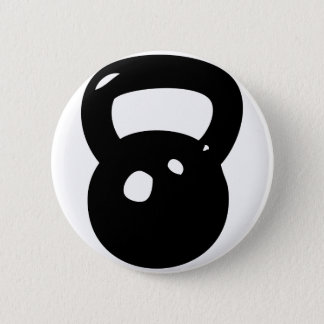 Kettlebell Workout Pinback Button