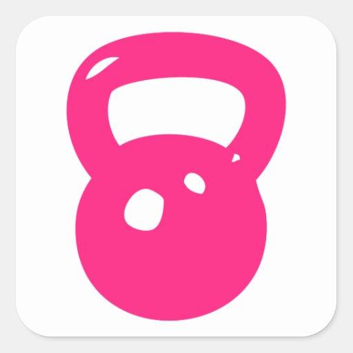 Kettlebell Workout Sticker
