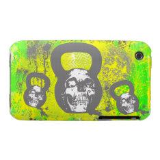 Kettlebellmania Iphone 3 Case at Zazzle