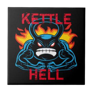 kettlehell azulejo cuadrado pequeño