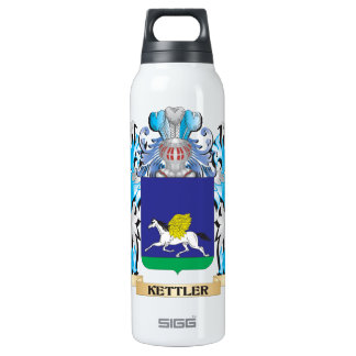 Kettler Coat of Arms - Family Crest 16 Oz Insulated SIGG Thermos Water Bottle