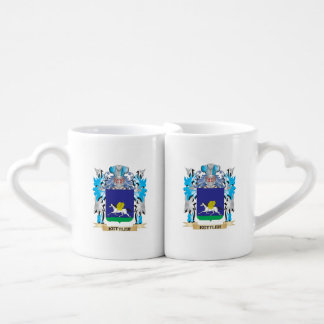 Kettler Coat of Arms - Family Crest Couples' Coffee Mug Set