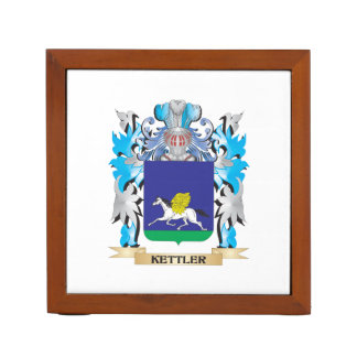 Kettler Coat of Arms - Family Crest Desk Organizers