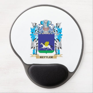 Kettler Coat of Arms - Family Crest Gel Mouse Pad