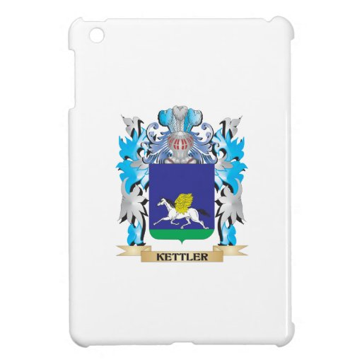 Kettler Coat of Arms - Family Crest Cover For The iPad Mini
