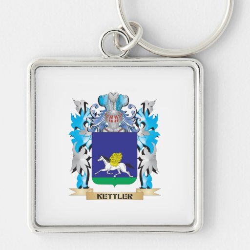 Kettler Coat of Arms - Family Crest Key Chain