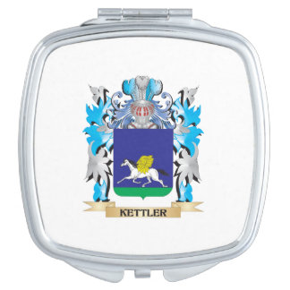 Kettler Coat of Arms - Family Crest Mirrors For Makeup