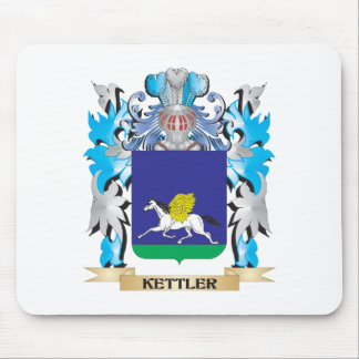 Kettler Coat of Arms - Family Crest Mouse Pad