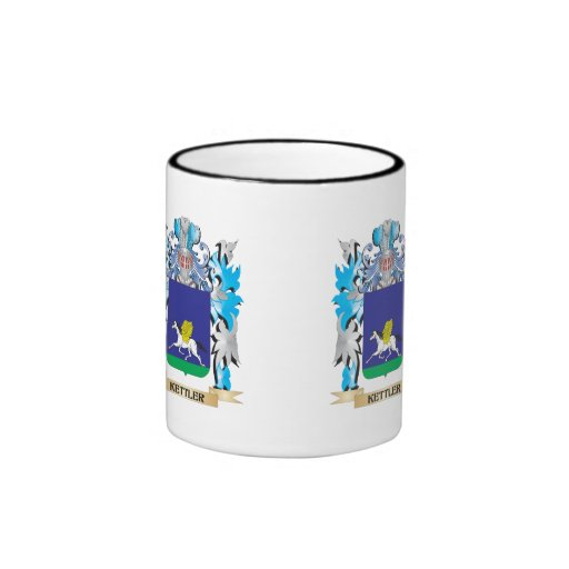 Kettler Coat of Arms - Family Crest Mugs