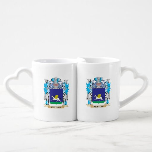 Kettler Coat of Arms - Family Crest Couples Mug