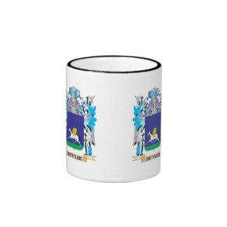 Kettler Coat of Arms - Family Crest Ringer Coffee Mug