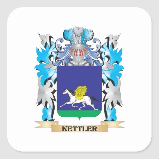 Kettler Coat of Arms - Family Crest Sticker