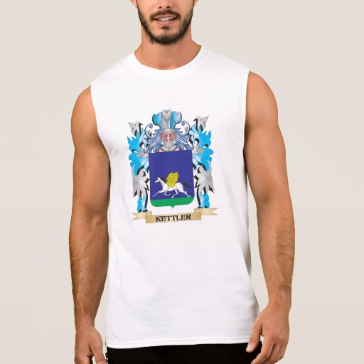 Kettler Coat of Arms - Family Crest Sleeveless T-shirts