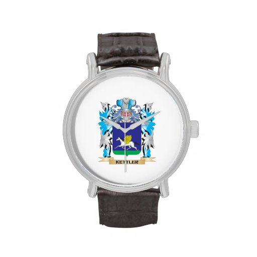Kettler Coat of Arms - Family Crest Wristwatches