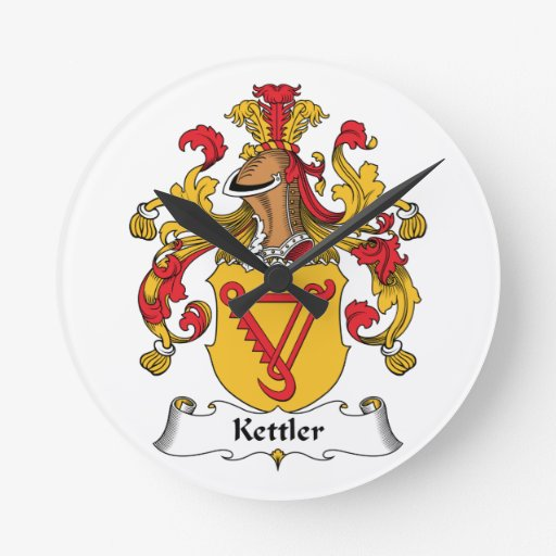 Kettler Family Crest Clocks