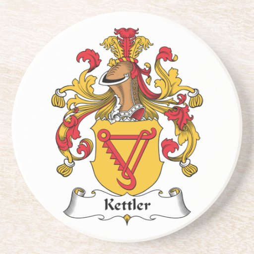 Kettler Family Crest Beverage Coaster