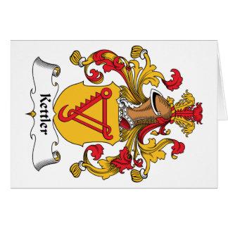 Kettler Family Crest Greeting Card
