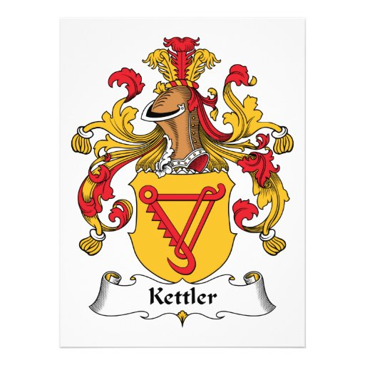 Kettler Family Crest Announcements