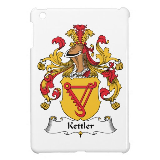 Kettler Family Crest Cover For The iPad Mini