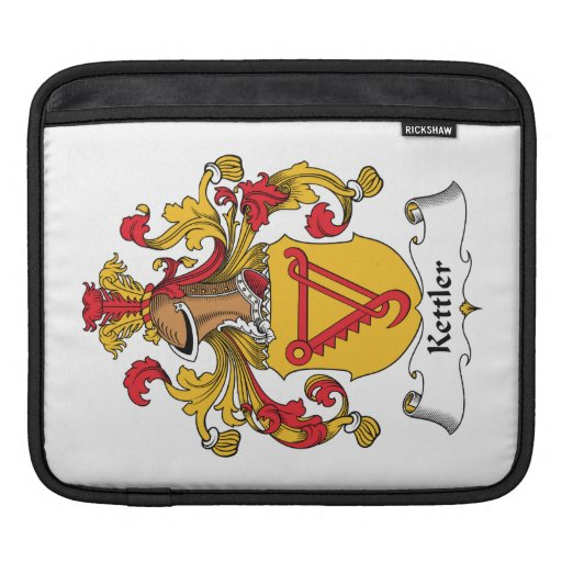Kettler Family Crest Sleeves For iPads